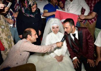 Meydanda 'demokrasi nikahı'