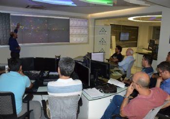 Enerji ve Tabii Kaynaklar Bakanlığına bağlı heyet SEDAŞ'ın SCADA merkezini inceledi