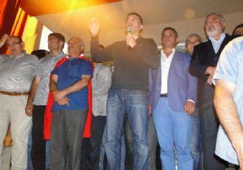 Doğubayazıt'ta demokrasi nöbeti devam ediyor