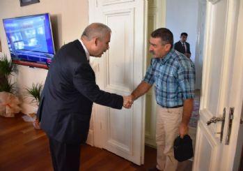 Hacı Bektaş Veli Vakfından Vali Güvençer'e ziyaret