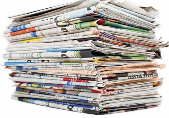 Gazete manşetleri (19.08.2016)