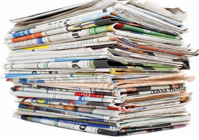 Gazete manşetleri (20.08.2016)