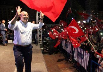 Kütahya'da demokrasi nöbetinin 13. günü