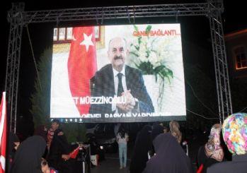 Müezzinoğlu demokrasi nöbeti tutan Tekirdağlılara seslendi