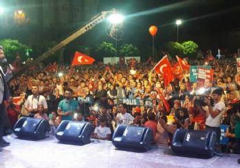 Karaman'da vatandaşın demokrasi nöbeti devam ediyor