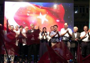 Kütahya İl Genel Meclisi üyeleri demokrasi nöbetinde