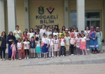 Başiskele semt konaklarından çocuklara etkinlik