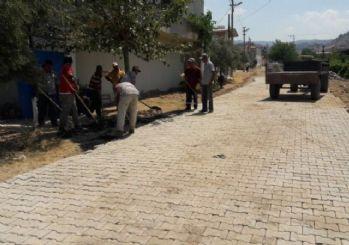 Salihli'de 3 mahalle tozdan kurtuldu