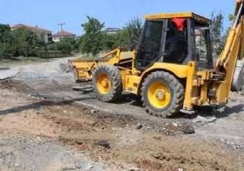 Osmaniye mahallesi asfaltlanıyor