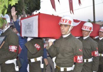 Şehit Jandarma Uzman Çavuş Sercan Özkul, son yolculuğa uğurlandı