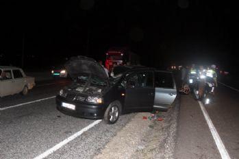 Gurbetçi aile kaza yaptı: Aynı aileden 1 ölü, 4 yaralı