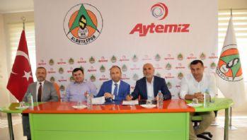 Alanyaspor'un yeni isim sponsoru Aytemiz