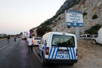 Dağlık alandaki şiddetli ses polisi alarma geçirdi