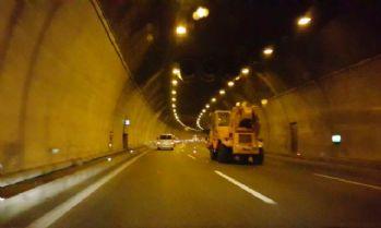 Bolu Dağı Tünelinde çalışma