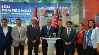 AK Parti'den CHP'ye 'geçmiş olsun' ziyareti