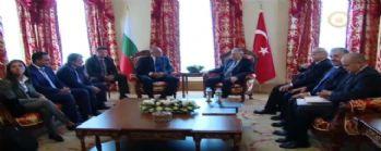 Başbakan Yıldırım Bulgar mevkidaşıyla görüşüyor