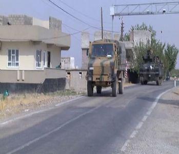 Sınır hattında askeri hareketlilik sürüyor