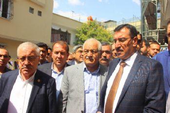 Bakan Tüfenkci patlamanın yaşandığı sokağı inceledi