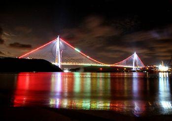 Yavuz Sultan Selim Köprüsü hizmete açılıyor