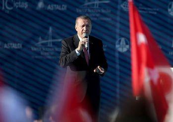 Erdoğan: Türkiye hedeflerine adım adım ilerliyor