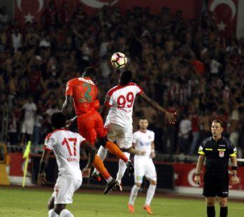 Antalya derbisi Alanyaspor'un