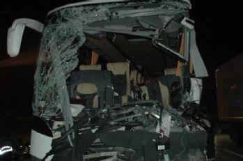Başkent'te kaza: 1 ölü, 14 yaralı