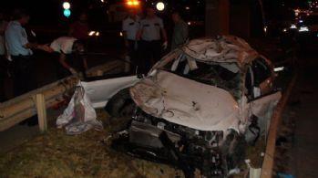 İstanbul'da feci kaza: 1 ölü, 5 yaralı