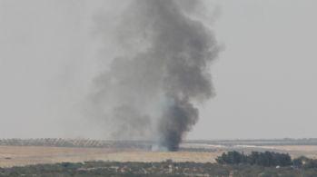 Cerablus'ta teröristlerin komuta merkezi imha edildi