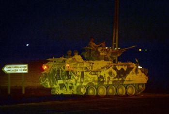 Cerablus'ta Türk tanklarına saldırı: 1 şehit, 3 yaralı