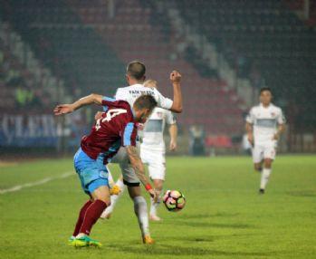 Trabzonspor 88'de yıkıldı
