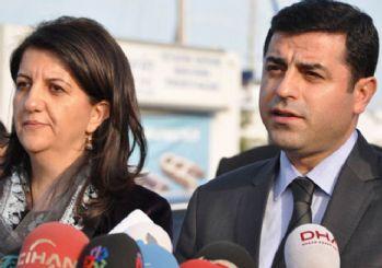 Selahattin Demirtaş ve Pervin Buldan ifadeye çağrıldı!