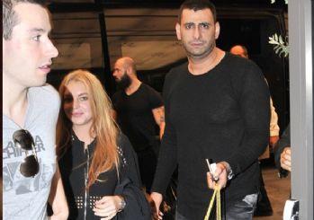 Lindsay Lohan İstanbul'da ağlama krizine girdi