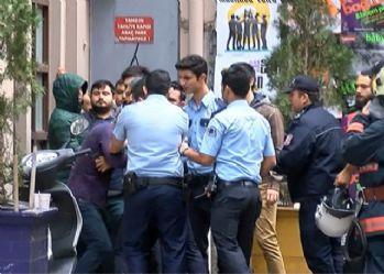 Sinan Çetin'in iş yerinde tahliye gerginliği