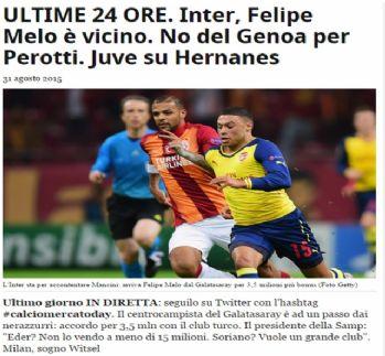 İtalyan basını: Melo Inter'de