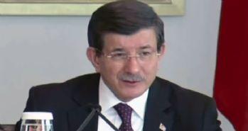 Başbakan Davutoğlu'ndan taziye mesajı