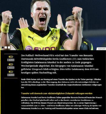 Dortmund'tan Grosskreutz açıklaması