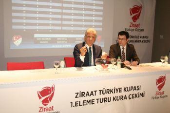 Türkiye Kupası 1. eleme turu kura çekimi yapıldı