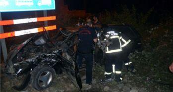 Ordu'daki trafik kazalarında 2'si ağır 8 kişi yaralandı