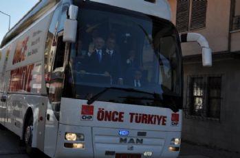 Mitinglerine Antalya'da devam ediyor