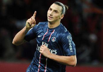 Zlatan İbrahimovic PSG'de tarihe geçti