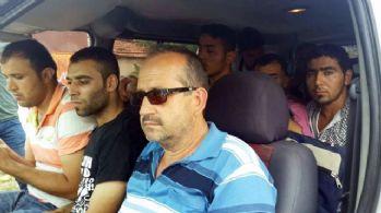 172 göçmenin Avrupa hayali Edirne'de son buldu