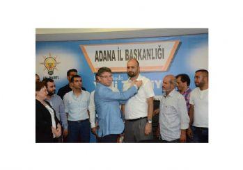 MHP'den istifa eden 150 Adanalı AK Parti'ye Geçti