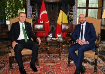 Cumhurbaşkanı Belçika Başbakanı ile görüştü