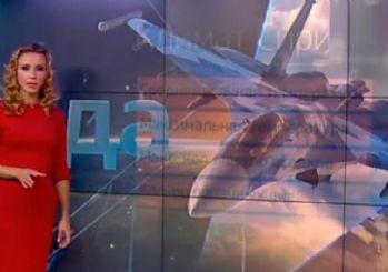 Rus TV'si hava durumunu operasyonlara göre sundu