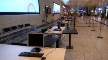 Atatürk Havalimanı'nda seçim hazırlıkları başladı
