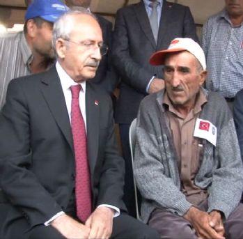 Kılıçdaroğlu'na şehit evinde tepki