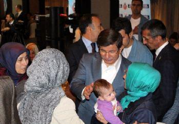 STK temsilcileri ve şehit aileleriyle bir araya geldi