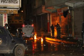 Siirt'te izinsiz gösteriye müdahele