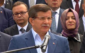 Davutoğlu İstanbul'da konuşuyor