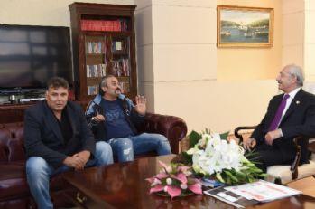 Kılıçdaroğlu, gazi Osman Ünlü ve ailesini kabul etti